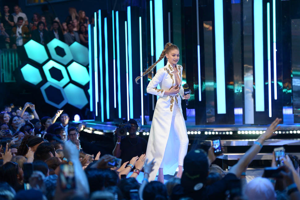 Gigi Hadid - 2016 iHeartRADIO MuchMusic Video Awards - Show