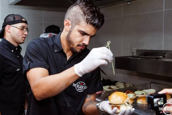 O fast casual fantástico do The Black Beef